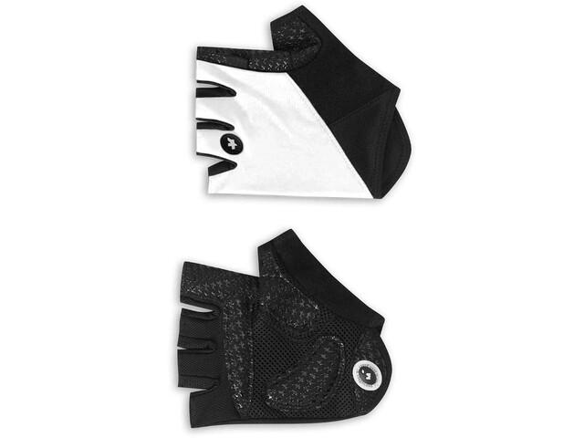 assos summerGloves_S7 Bike Gloves white/black